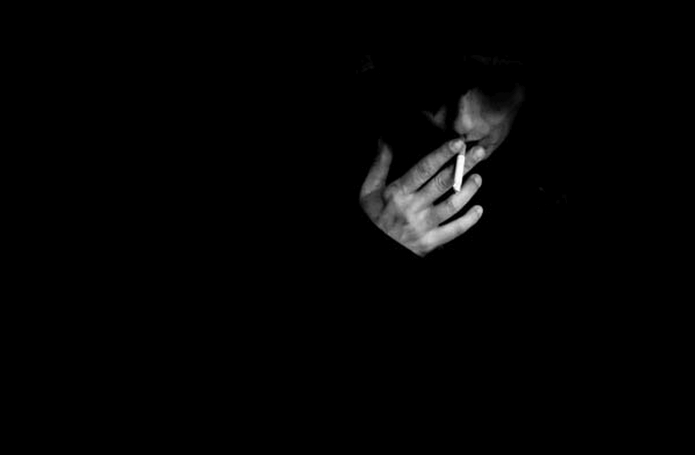 I'm smoking